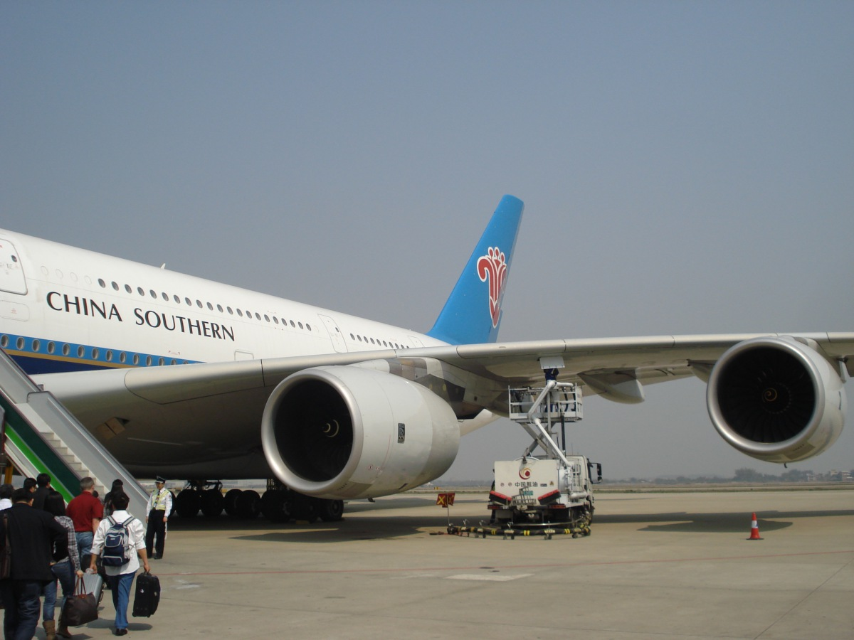 Airbus A380 of China Southern Airlines