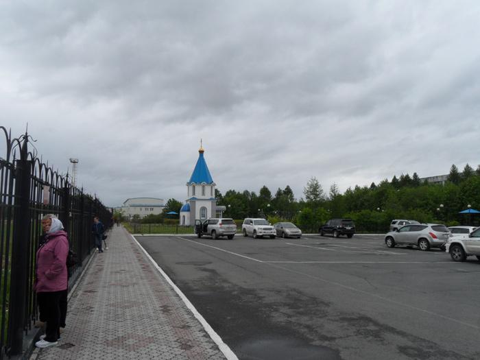 В аэропорту Елизово