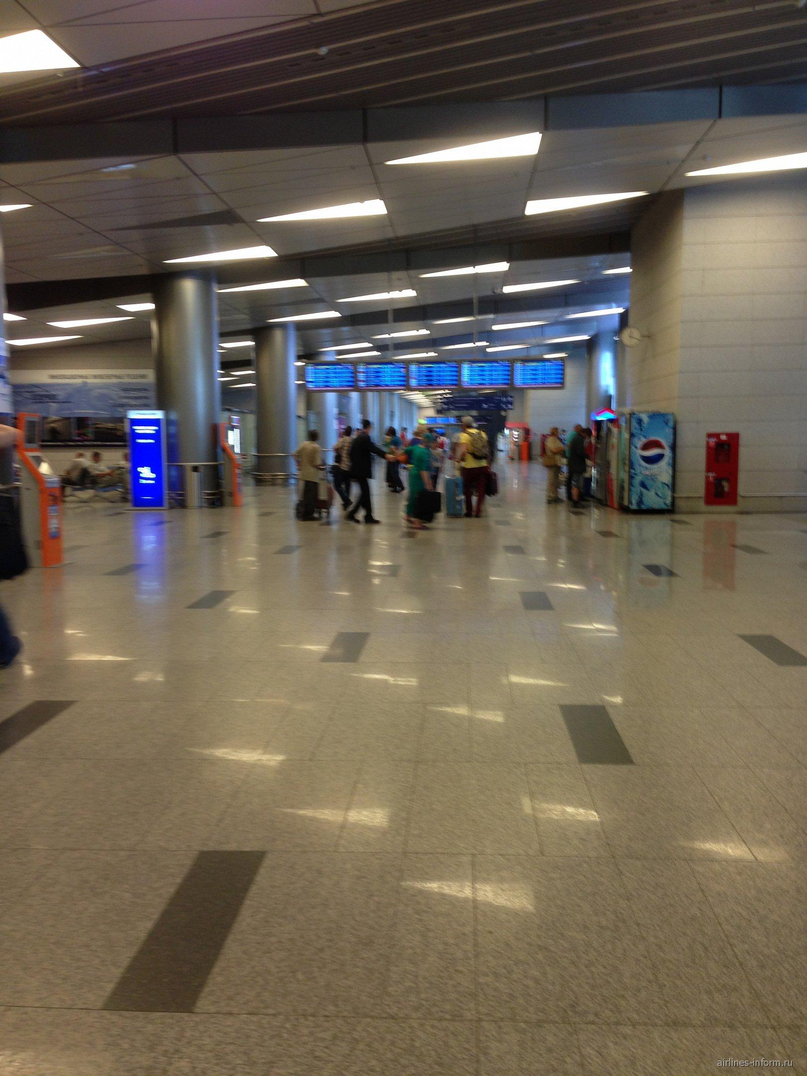 В аэропорту Москва-Внуково