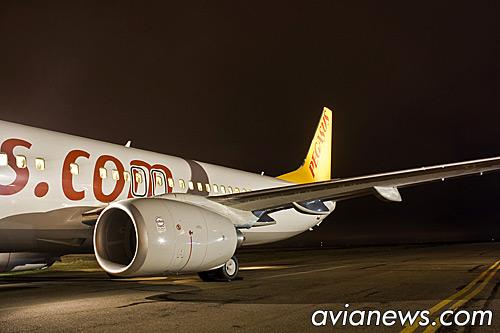 Boeing 737-800 Pegasus Airlines