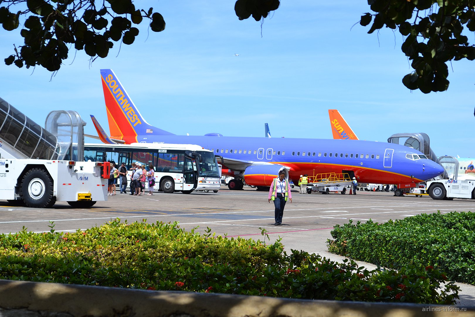 Боинг-737-800 авиакомпании Southwest в аэропорту Пунта-Кана