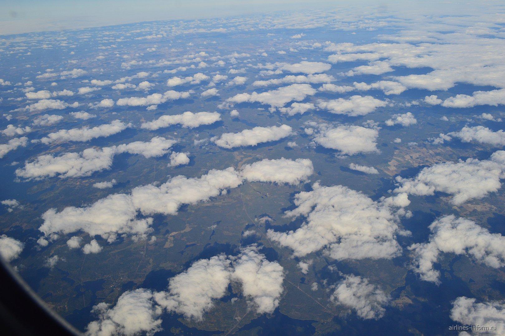 Облака над Швецией