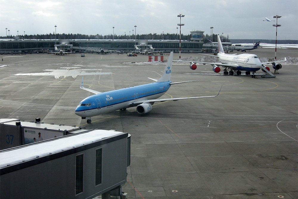 Boeing 737-800 of KLM Royal Dutch Airlines