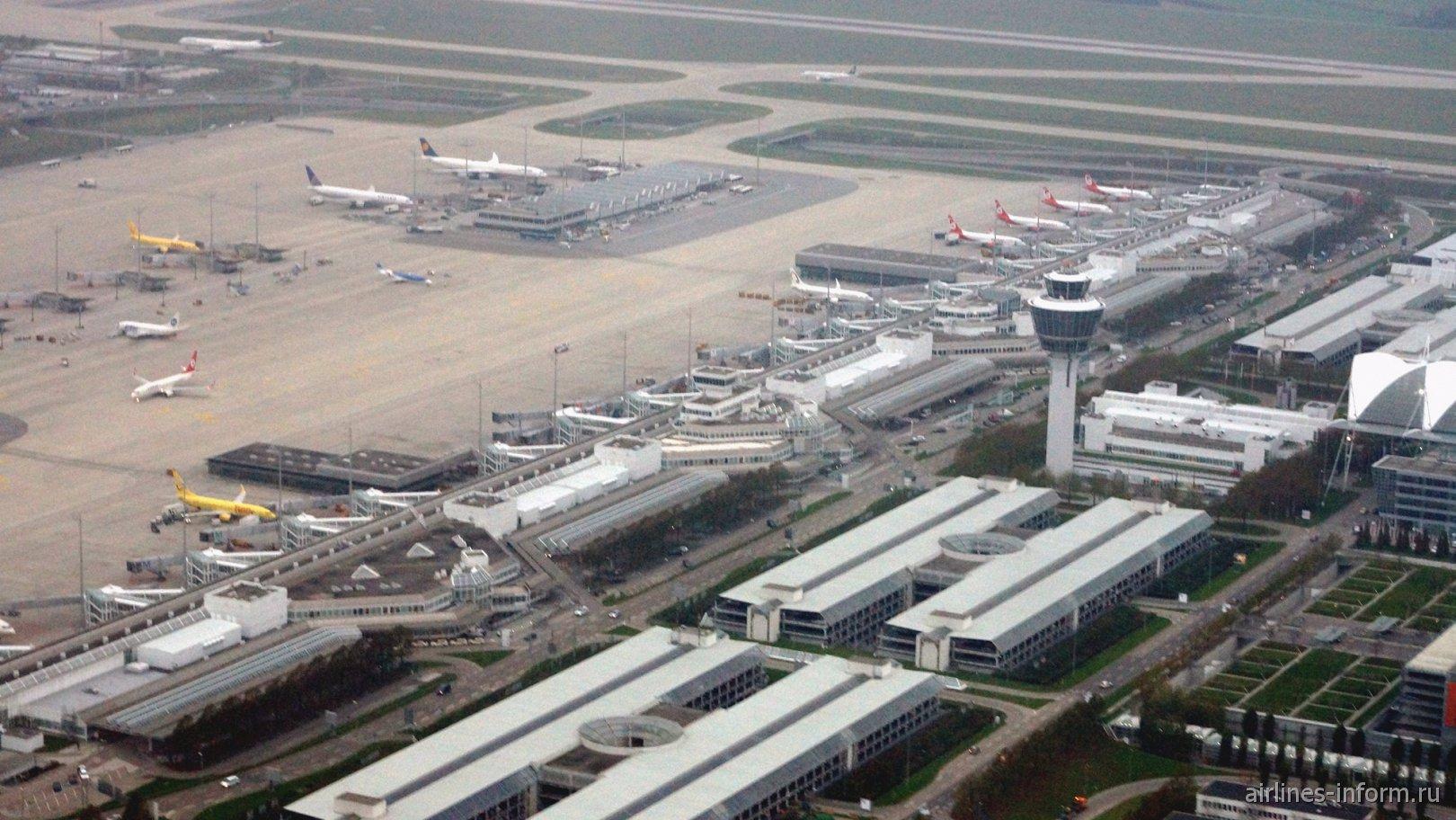 Терминал 1 аэропорта Мюнхен