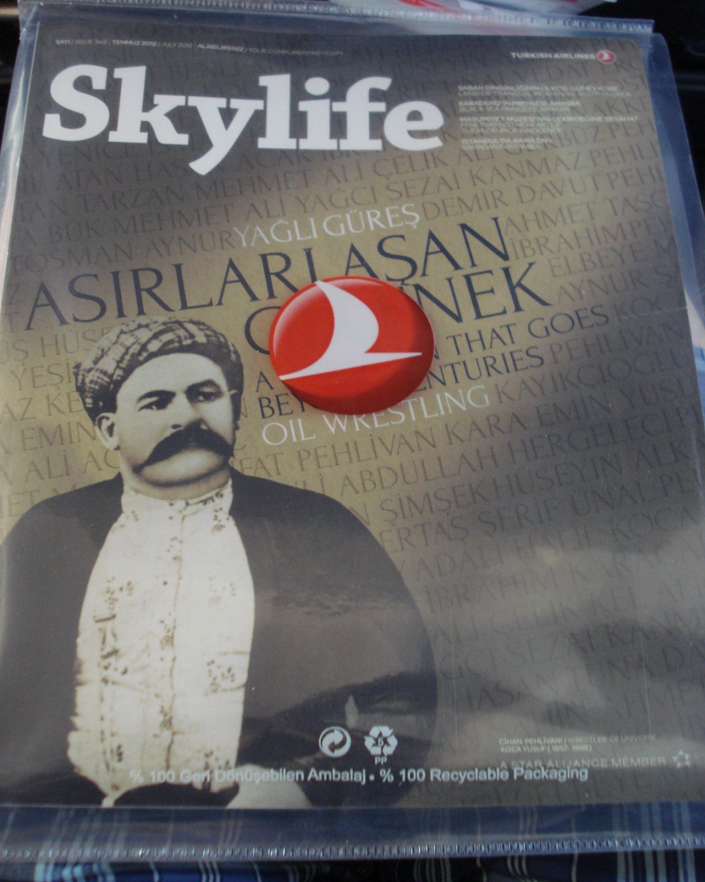 Inflight magazine of Turkish Airlines