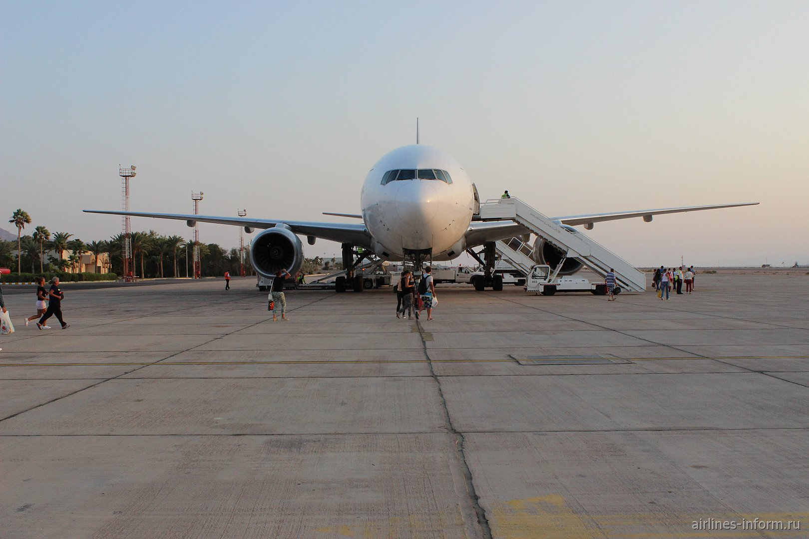 Летний отпуск. Часть 5 - Aqaba (King Hussein - AQJ) - Moscow (Sheremetyevo E - SVO) с Nordwind Airlines на Б-777-200 (бизнес-класс)