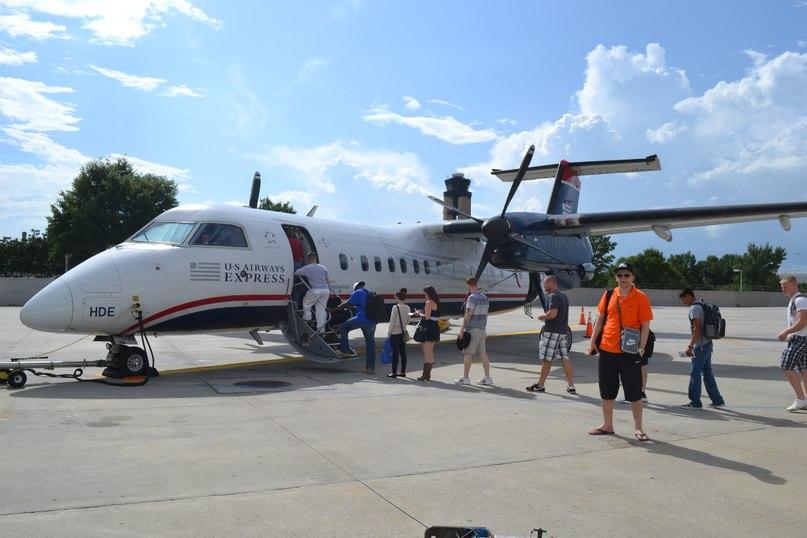 US Airways Express. Май 2012.