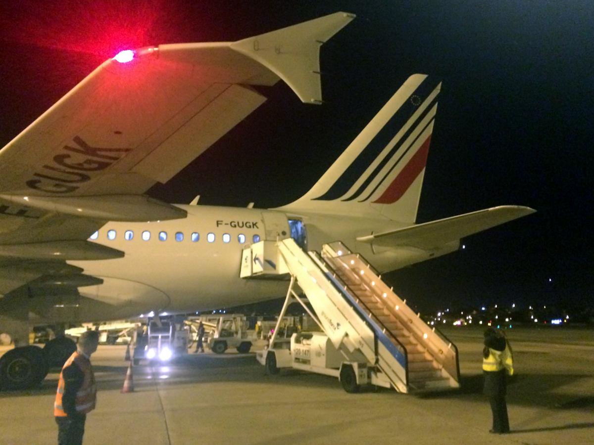 France is in the air. Париж - Лиссабон с авиакомпанией Air France.