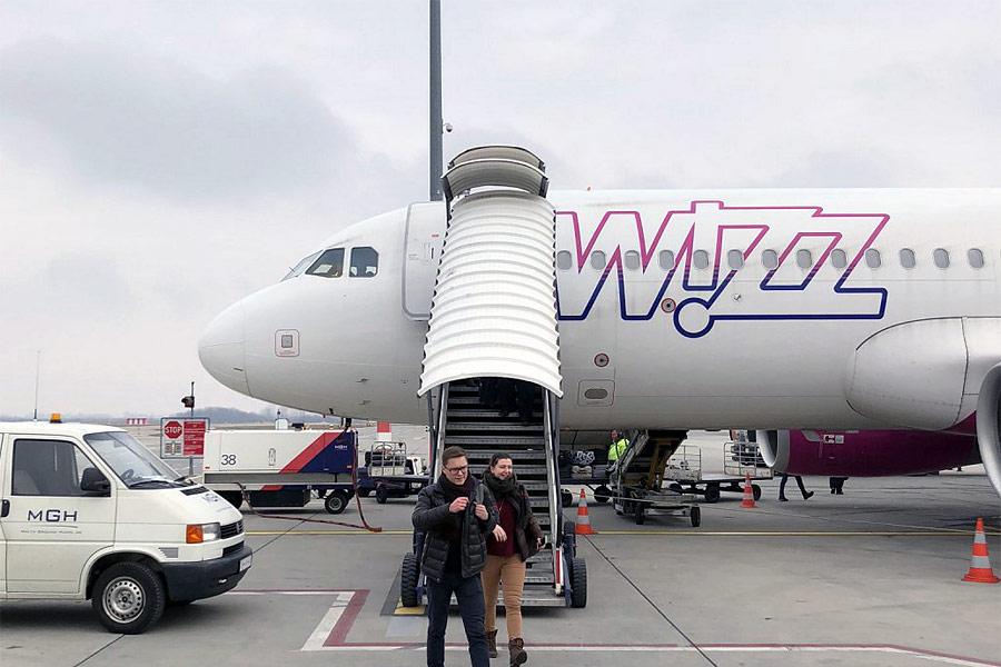 Москва (Внуково) - Будапешт (Аэропорт им. Ференца Листа): Airbus A320 (sharklets)