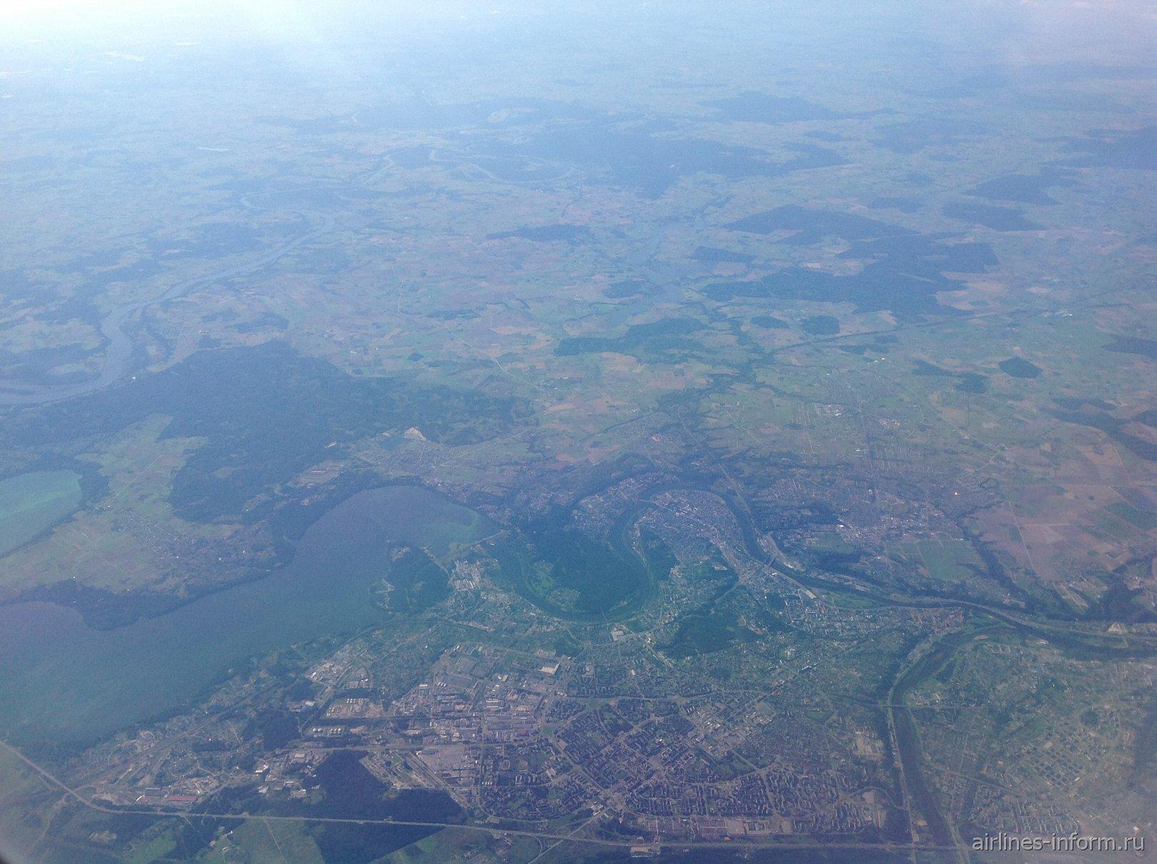 В полете над Каунасом
