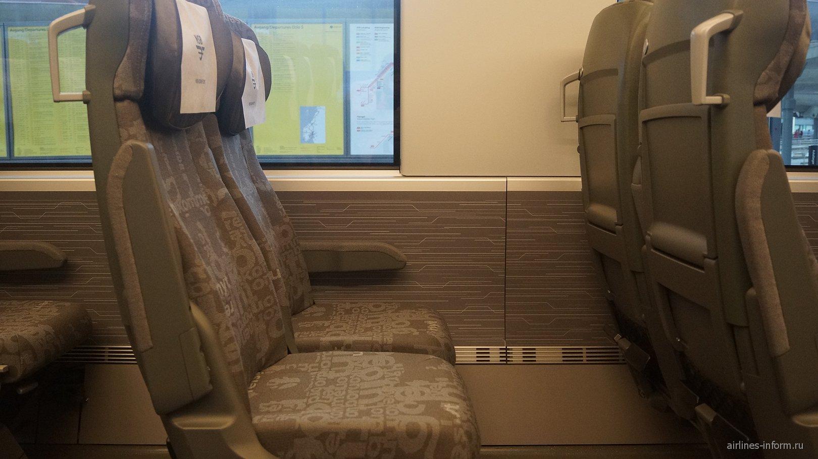 Поезд в аэропорт Осло Гардермуэн