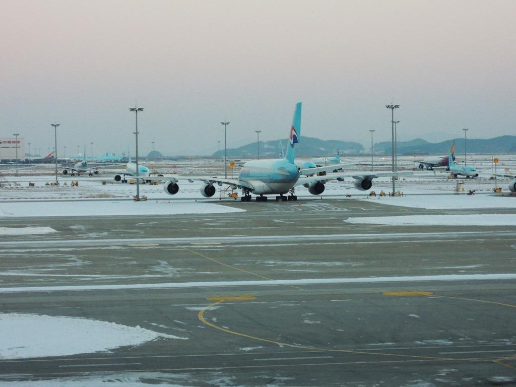 Перрон аэропорта Сеул Инчхон