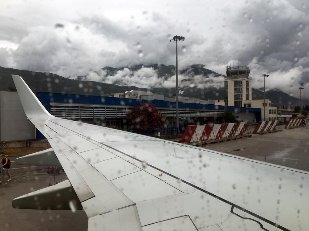 Открывать. Тиват - Москва с авиакомпанией S7 Airlines.