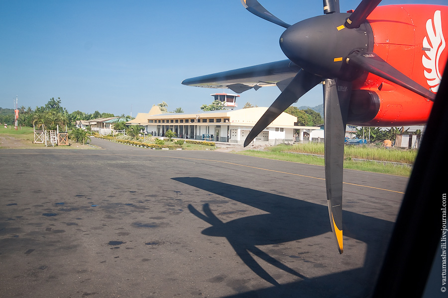 Аэровокзал в аэропорту Энде