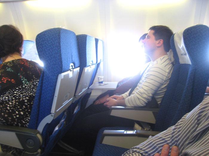 Кресла самолета Боинг-737-500 АэроСвита/Днеправиа