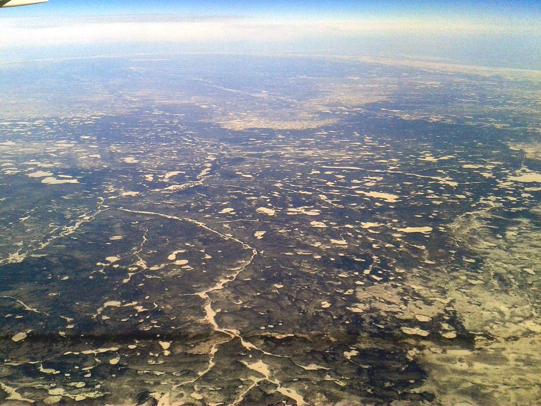 Плато Путорана в Восточной Сибири