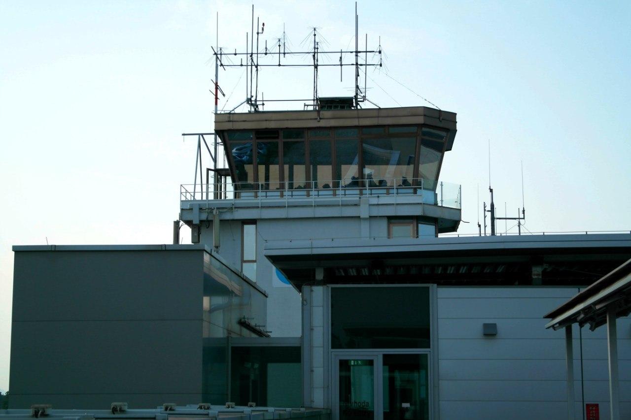 Диспетчерская вышка аэропорта Любляны