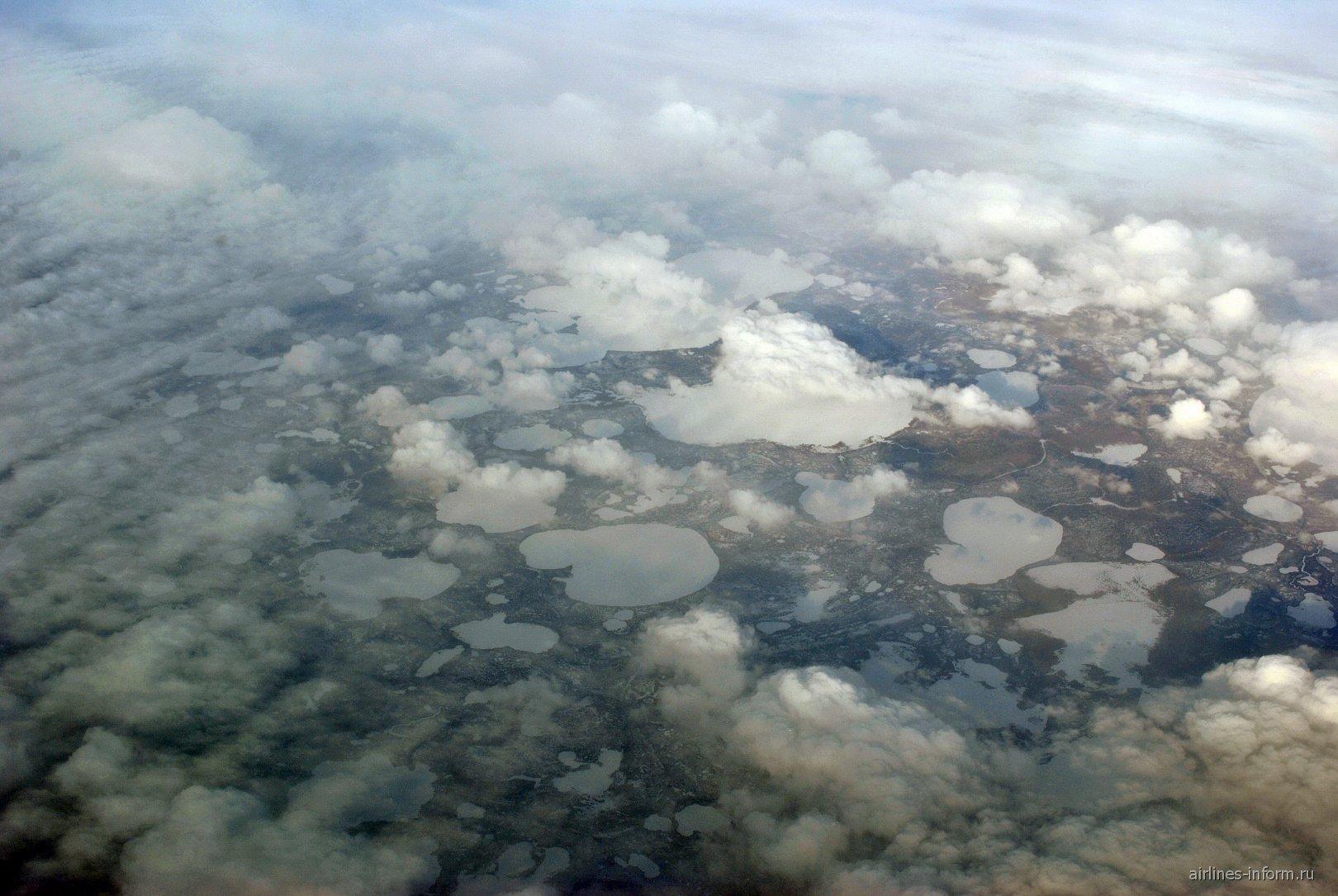 Озера на северо-западе Сибири