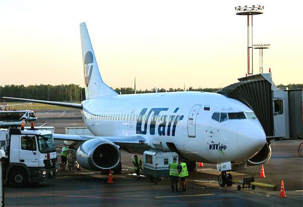 Авиакомпания ЮТэйр и аэропорт Сургут