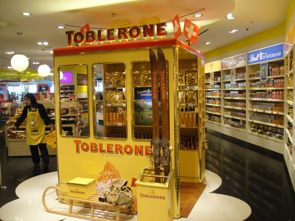 Duty Free shop in Singapore Changi Airport