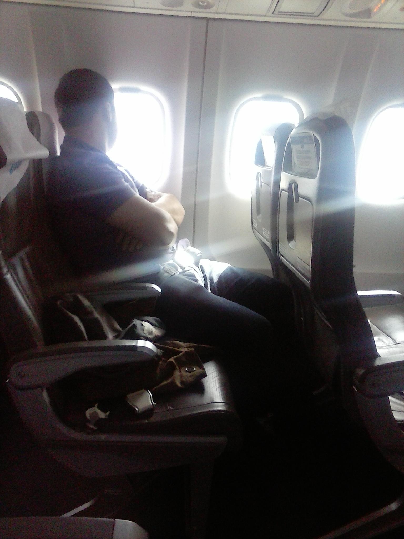 Салон самолета ATR 72 авиакомпании ЮТэйр Экспресс