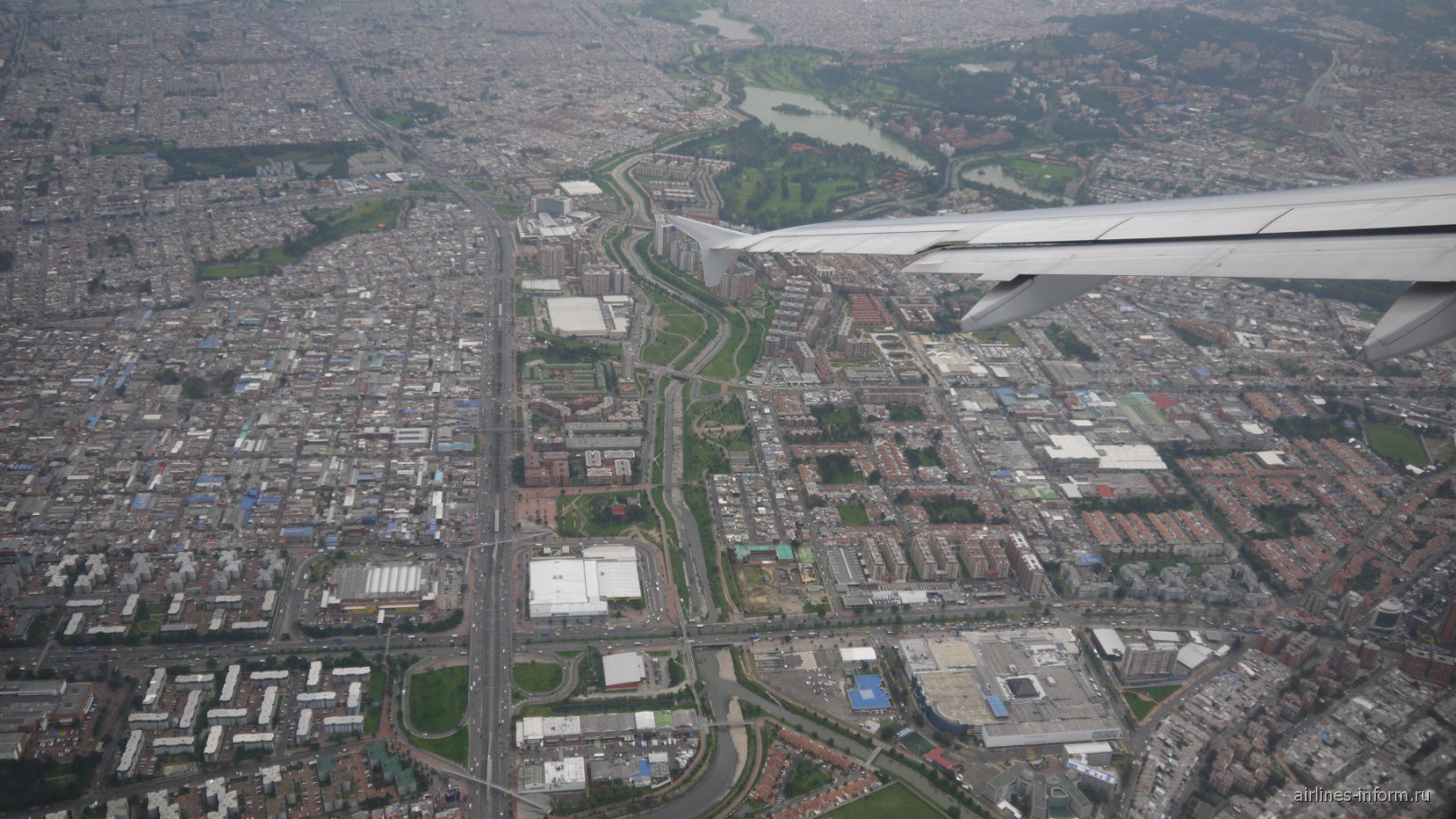 Столица Колумбии - город Богота