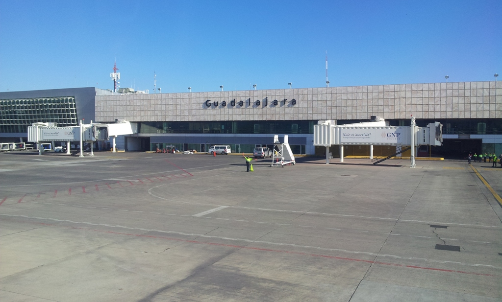 Аэровокзал аэропорта Гвадалахара