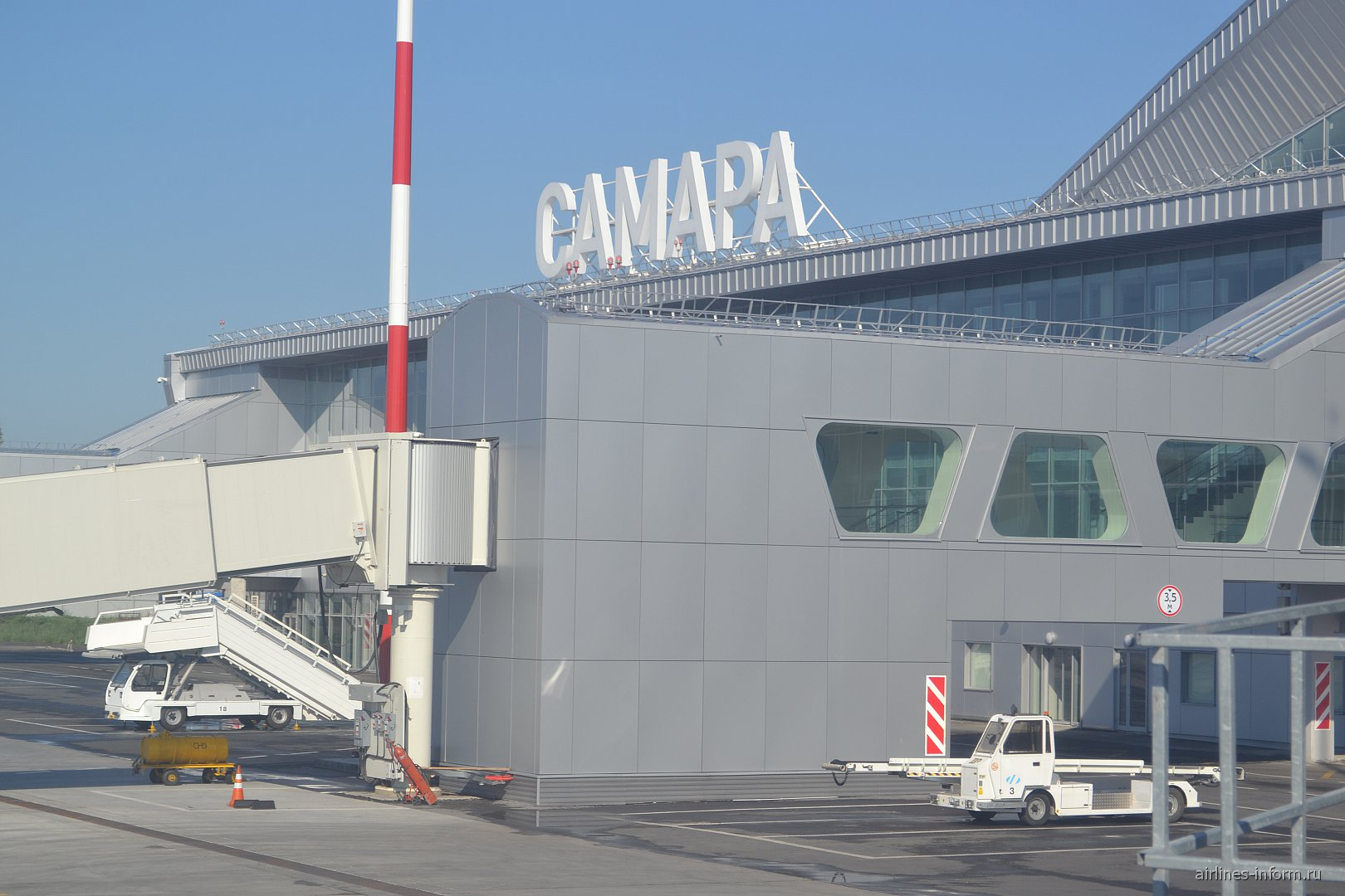 Пассажирские терминал аэропорта Самара Курумоч
