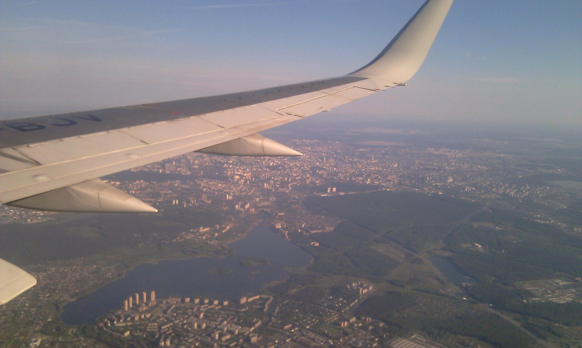 Approaching Yekaterinburg