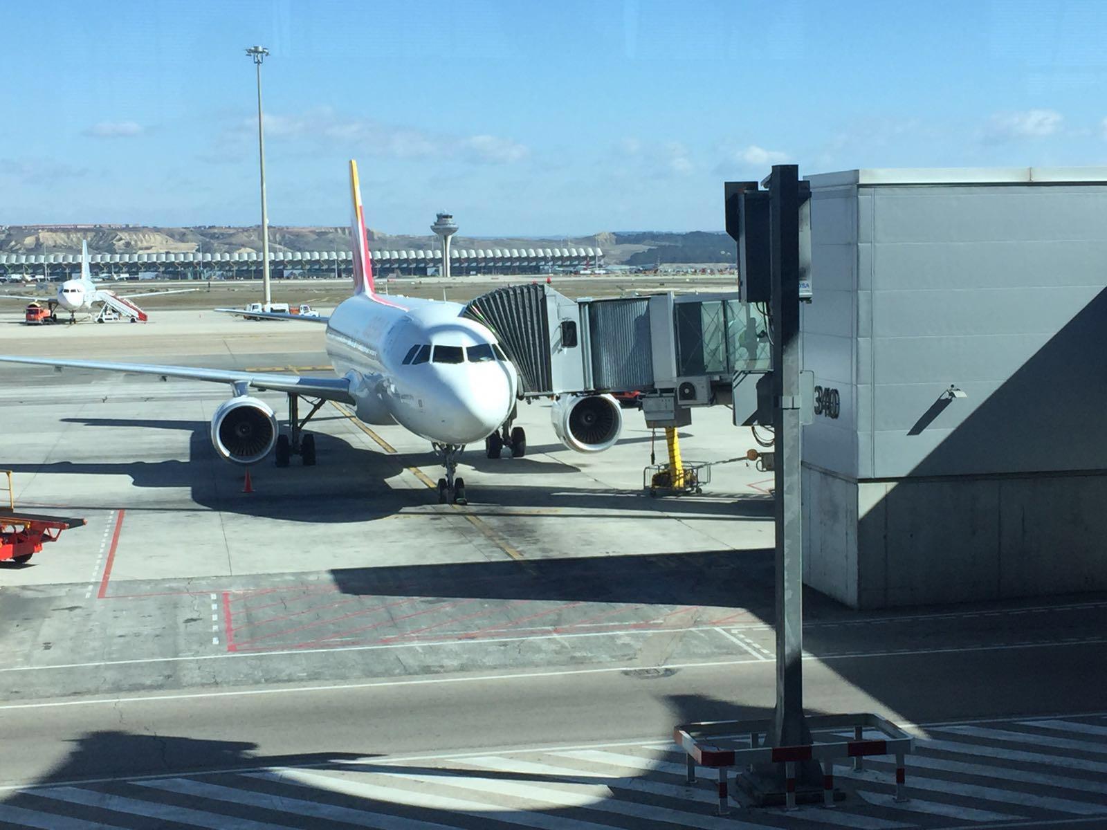 Перелет Мадрид - Лиссабон с Iberia