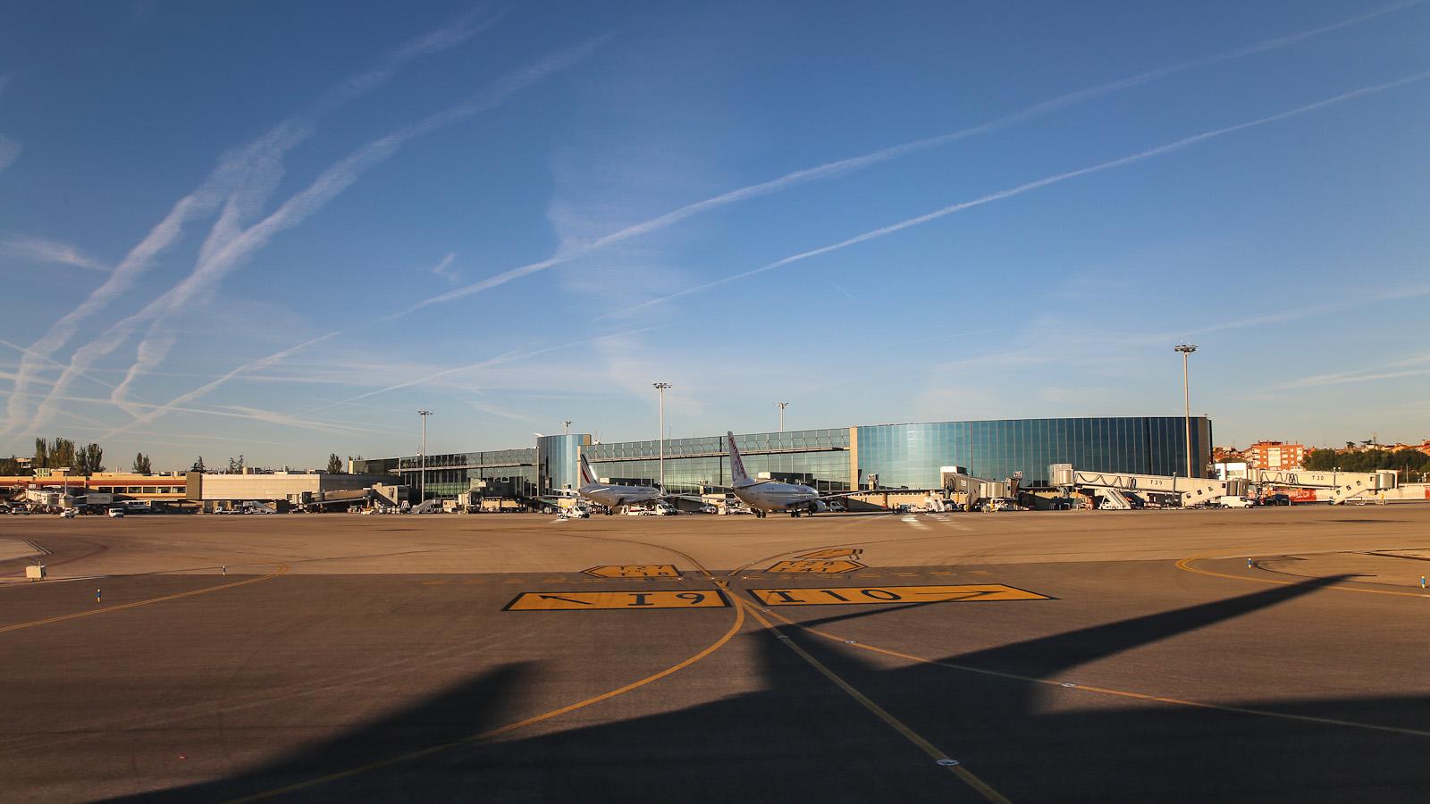 Терминал 3 аэропорта Барахас в Мадриде