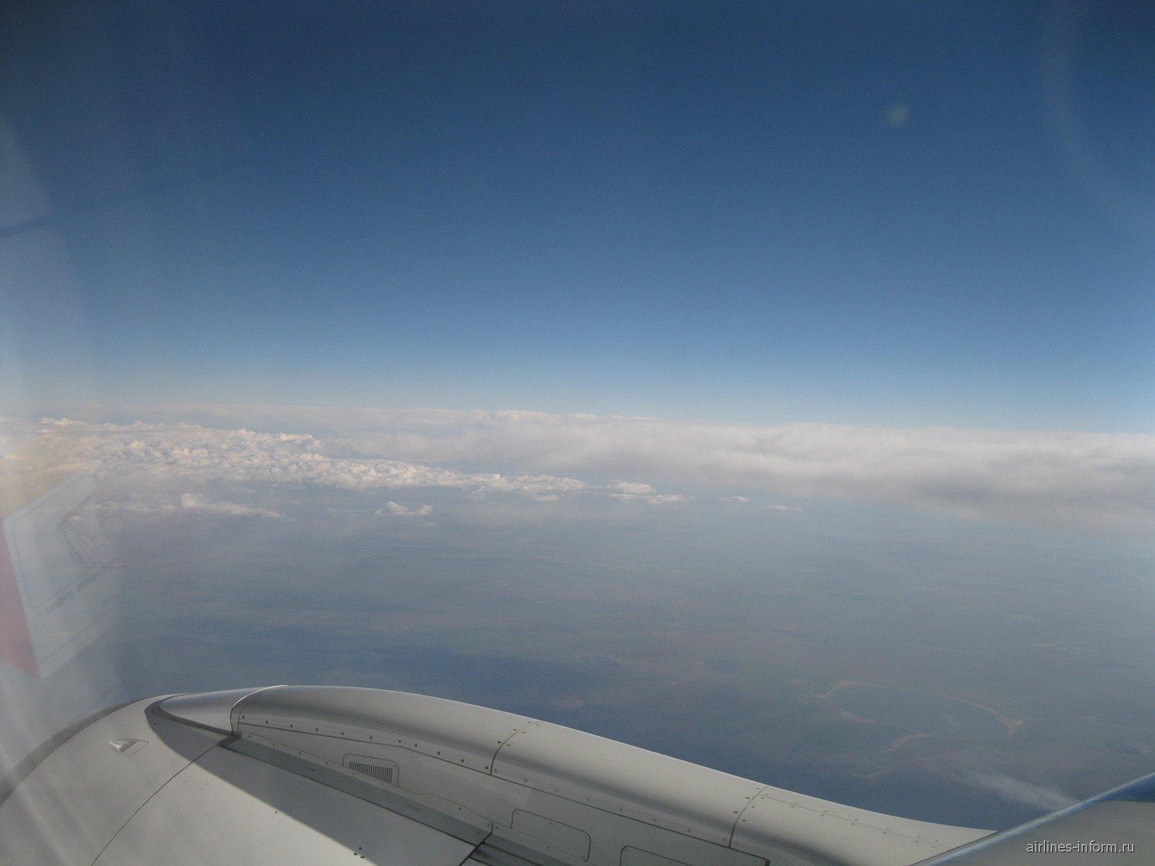 Рейс Астана-Санкт-Петербург авиакомпании Air Astana