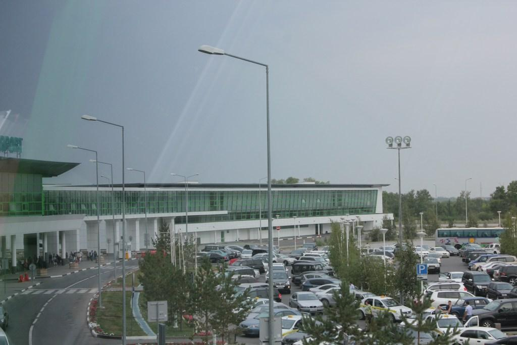 Привокзальная площадь аэропорта Астана