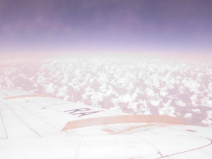В полете на Ту-154