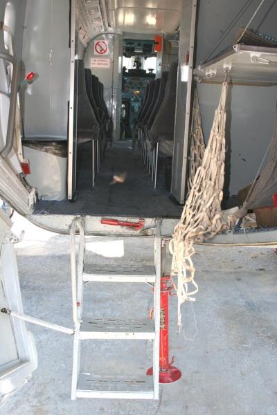 Салон самолета Ан-28