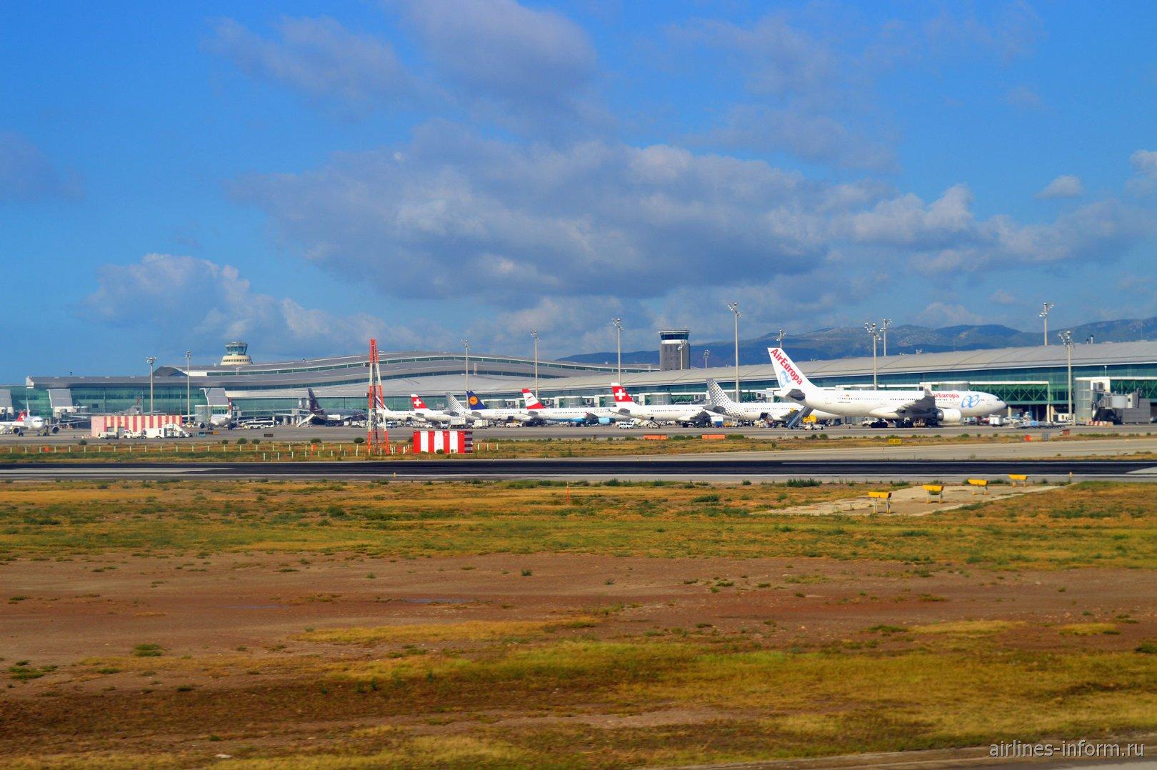 Аэропорт Эль-Прат в Барселоне