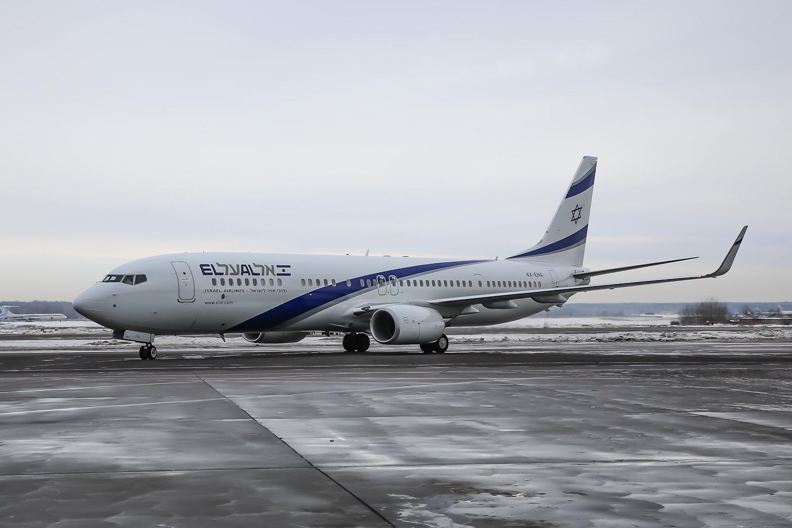 Новый Boeing 737-900ER авиакомпании EL AL