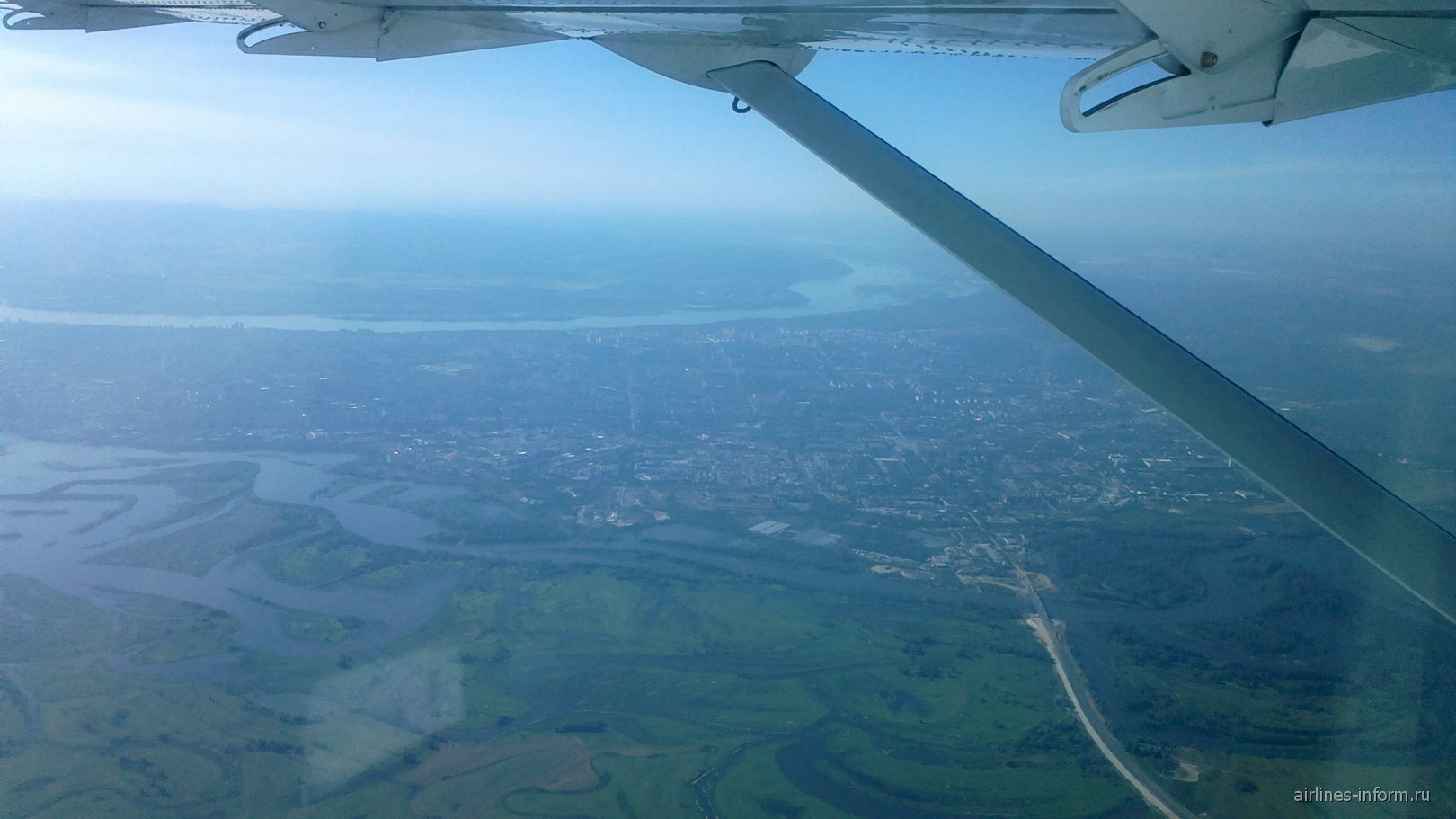 Рейс Саратов-Самара авиакомпании Татарстан