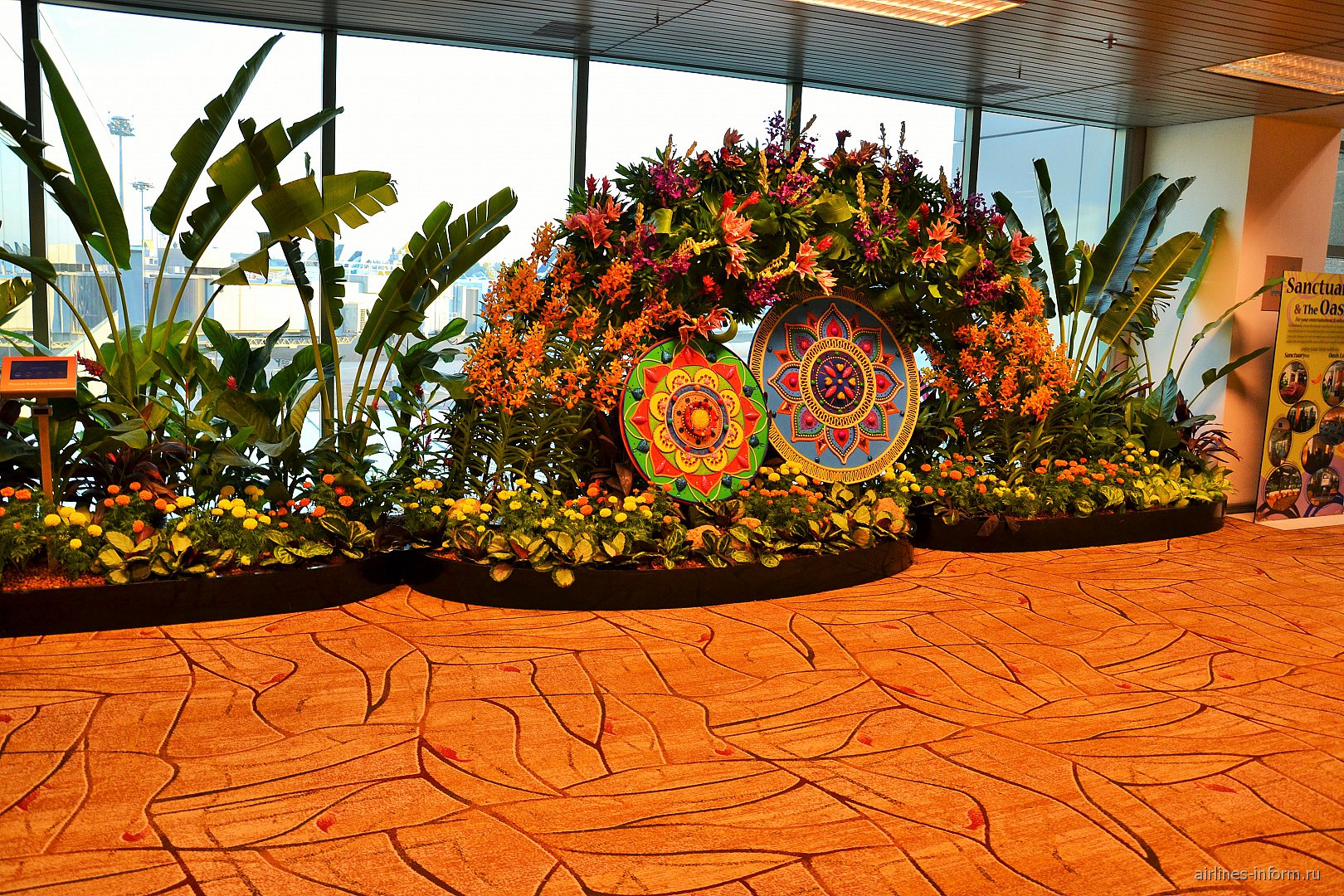 В терминале 2 аэропорта Чанги в Сингапуре
