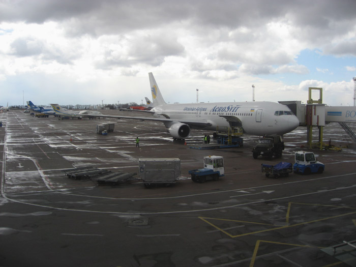 Боинг-767-300 авиакомпании Аэросвит