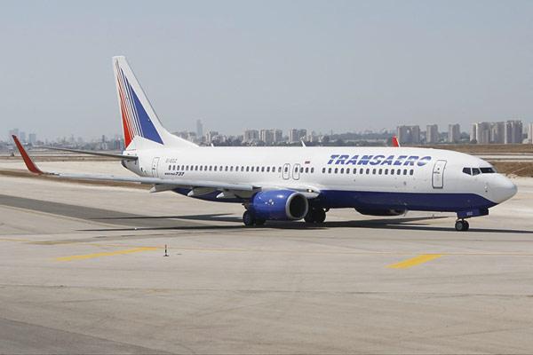 Tyumen-Paphos-Tyumen with Transaero. Business class on a Boeing-737-800.