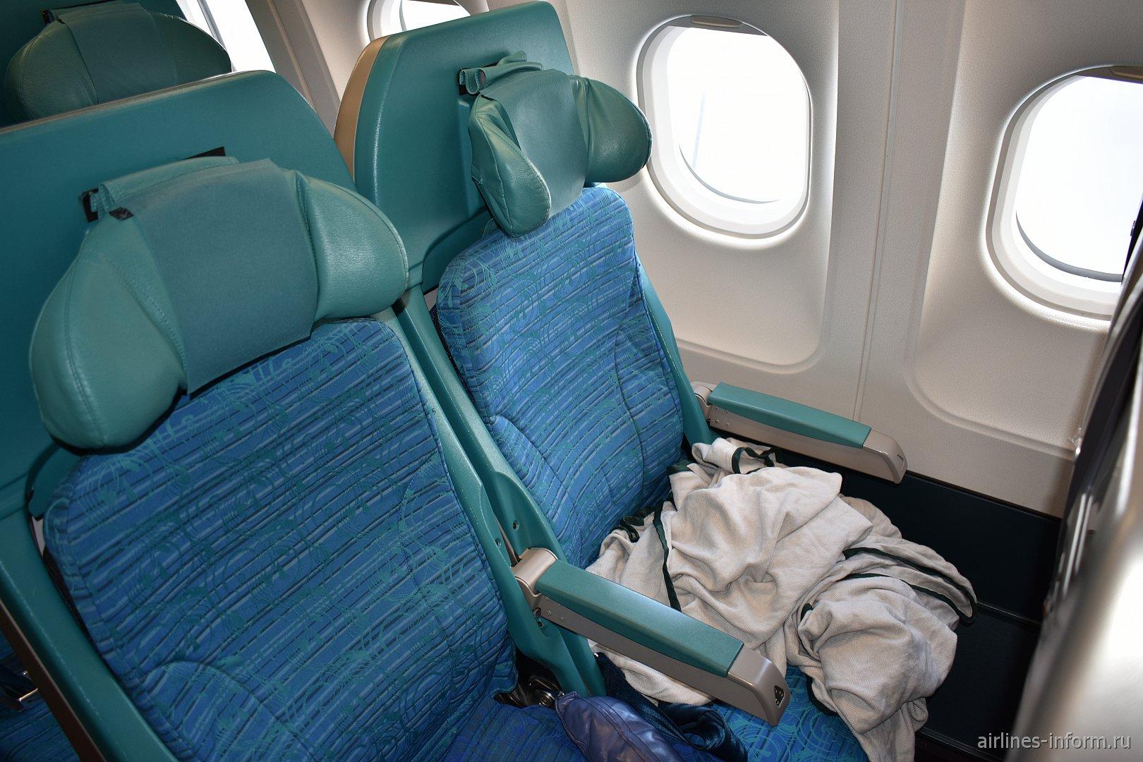 Пассажирские кресла в Airbus A330-300 авиакомпании Cathay Pacific