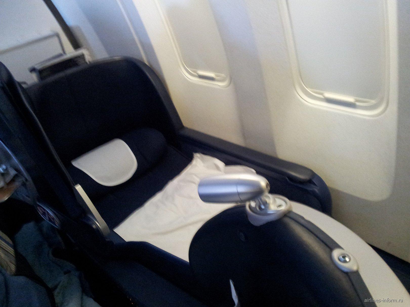 Бизнес-класс в самолете Боинг-767-300 Британских авиалиний