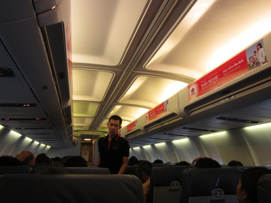 At the plane of JetStar Pacific Airlines