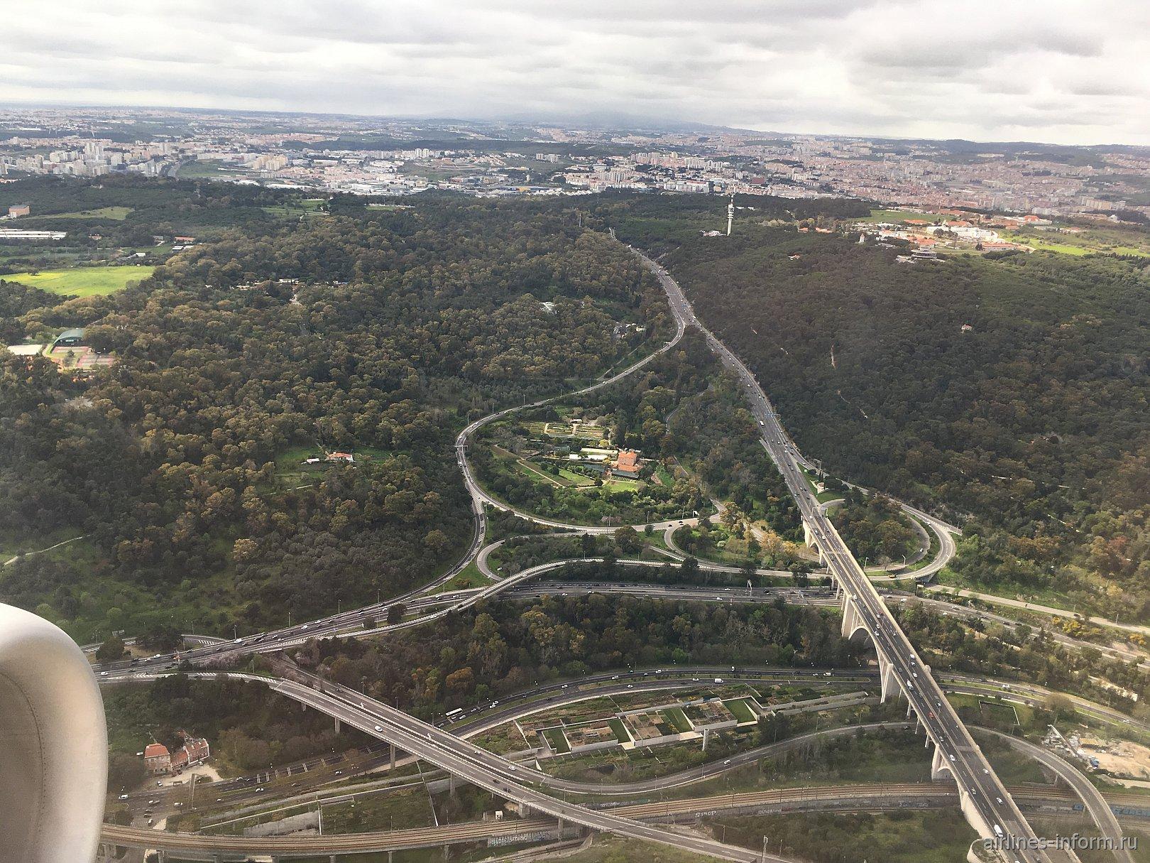 Транспортные развязки в Лиссабоне