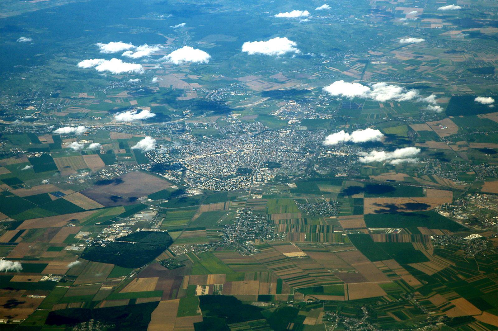 Город Плоешти - нефтяная столица Румынии