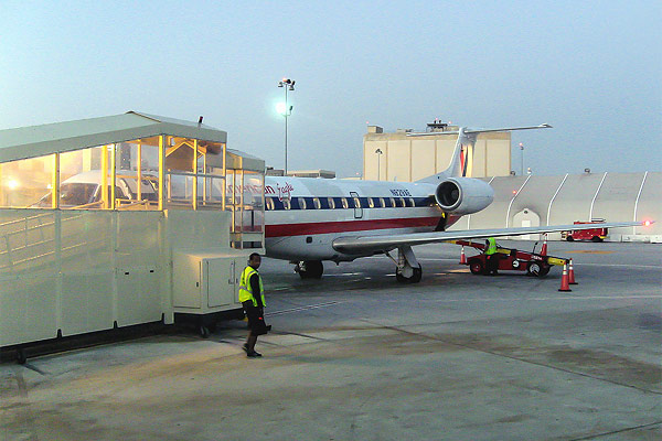 American Eagle - regional airline in the USA