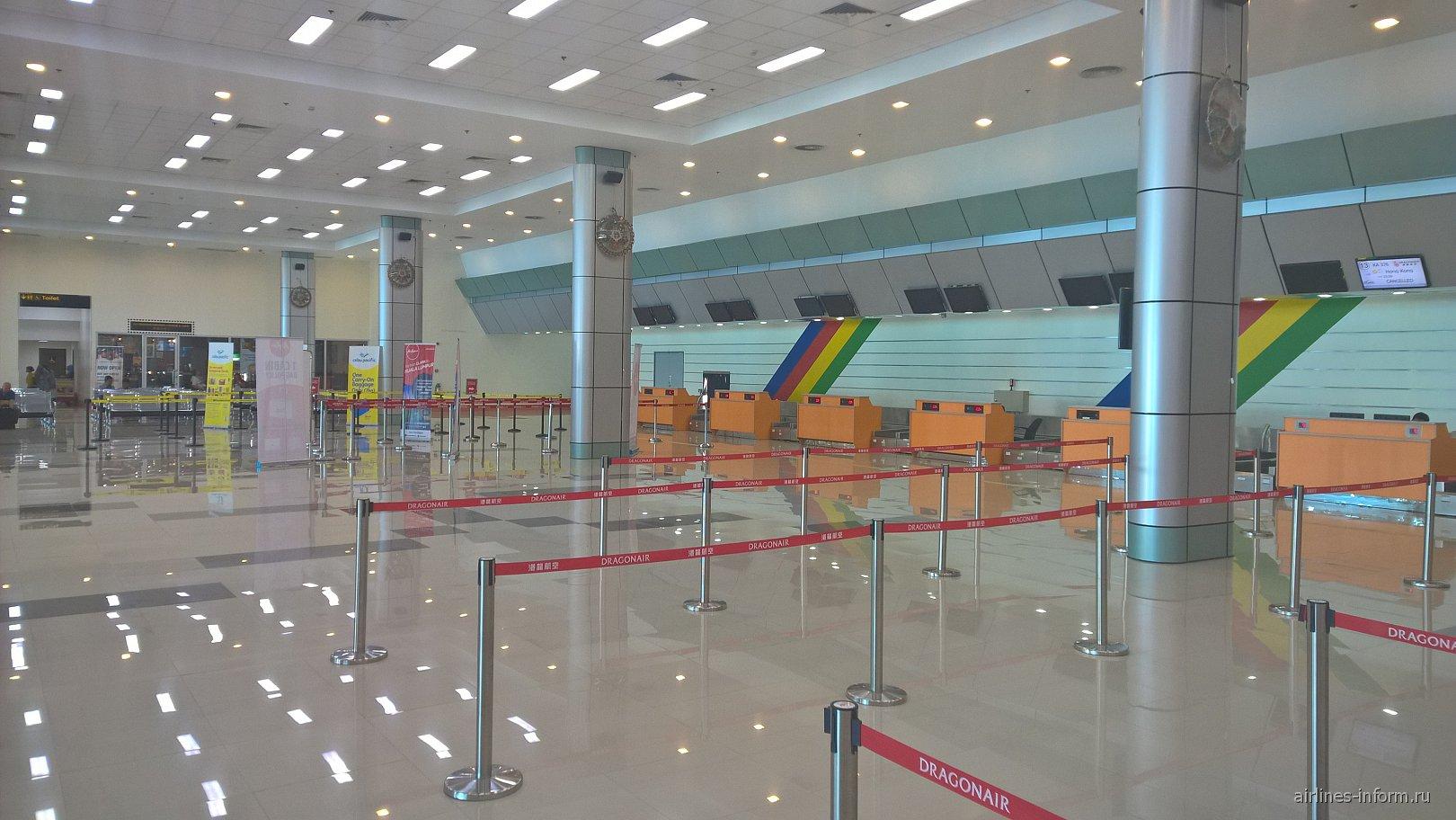 Стойки регистрации в аэропорту Кларк