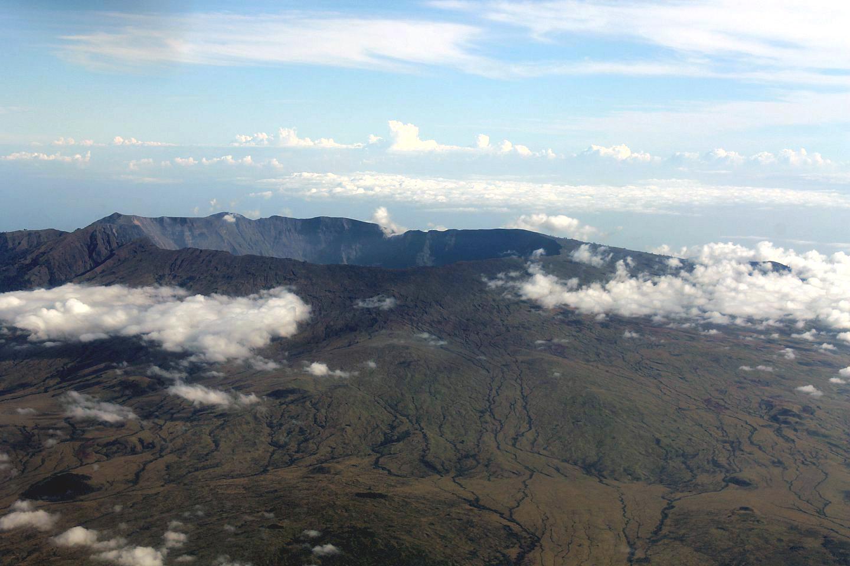 Вулкан на острове Бали