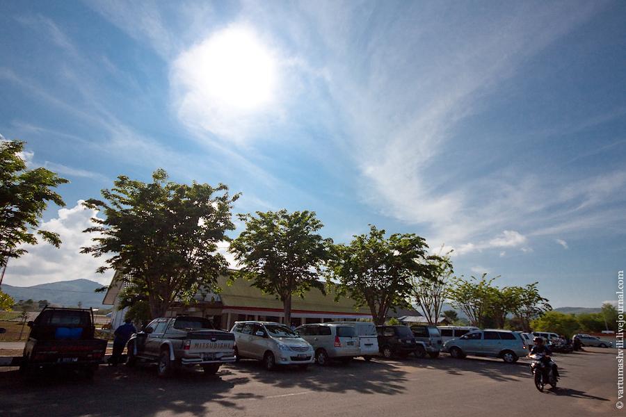 В аэропорту Комодо Лабуан-Баджо